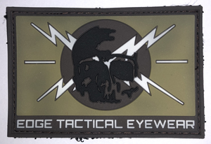 Gumový patch EDGE TACTICAL lebka