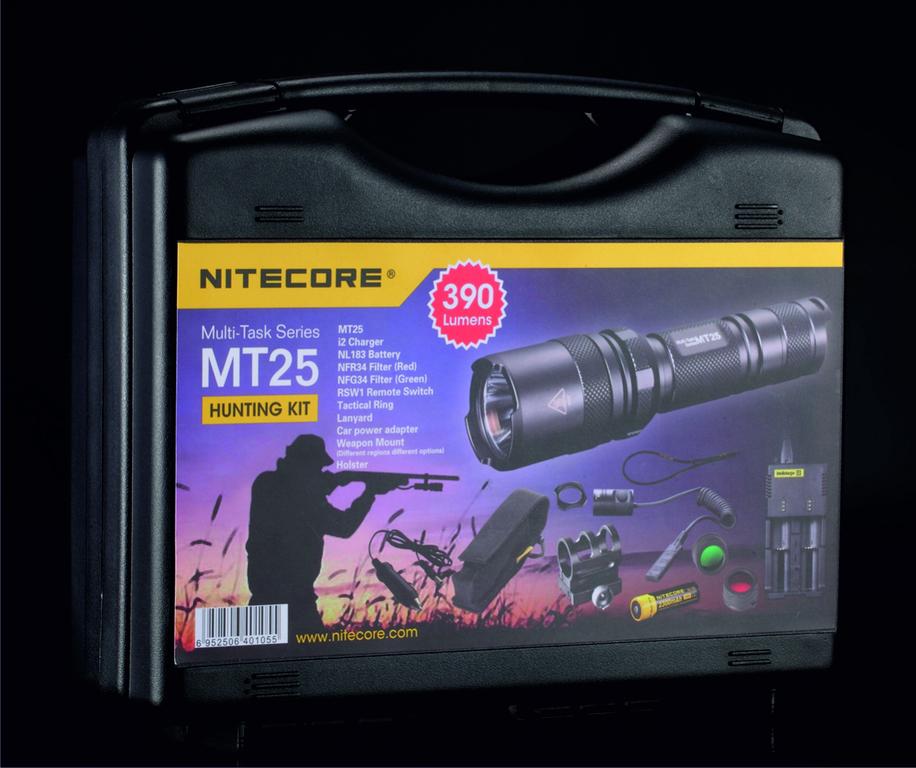 NITECORE MT25 Lovecká sada